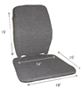 Sacro-Ease Trimet Backrest with Memory Foam for Transit and Truck Drivers