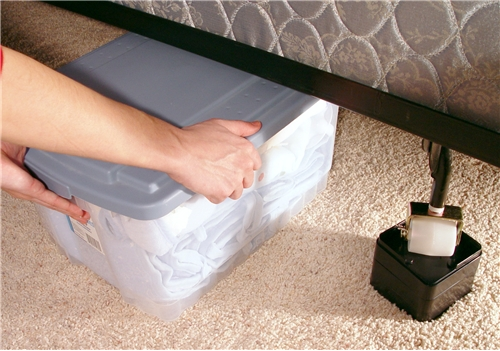 Use Raise Its To Increase Underbed Storage Space.
