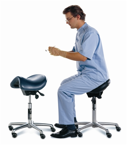 Hager Bambach Saddle Stool For Dental Practitioners