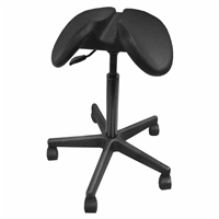 Brewer PS135 Poly Saddle Stool | Salli Job