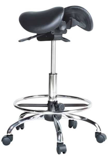 Kanewell 901srl Twin Ergonomic Saddle Seat With Foot Ring