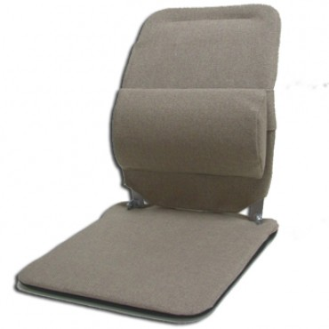Sacro-Ease BRCSM Back Rest with Standard Seat in Light Brown