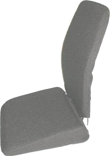 Sacro-Ease BRSCMTW Memory Foam Back Rest with Wedge Seat