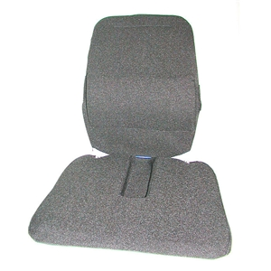 Sacro-Ease Trimet Memory Foam Backrest with Coccyx Cut-out for Transit and Truck Drivers