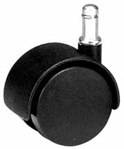 Large Chair Caster 60 mm hooded