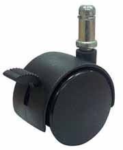 Large Locking Chair Caster, 60 mm