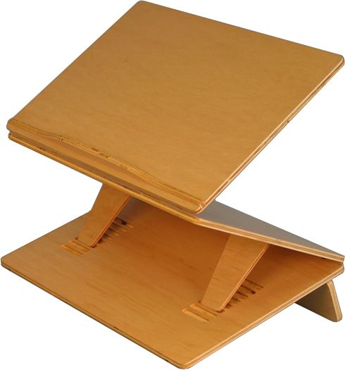 Adjustable Sit-Stand Podium Writing Slope