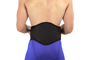 BackJack Heavy-Duty Lumbar Stabilization Back Support by Back-A-Line, Rear View on Man