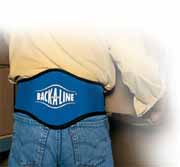 Back-A-Line Lumbar Support Back Belt for Lifting