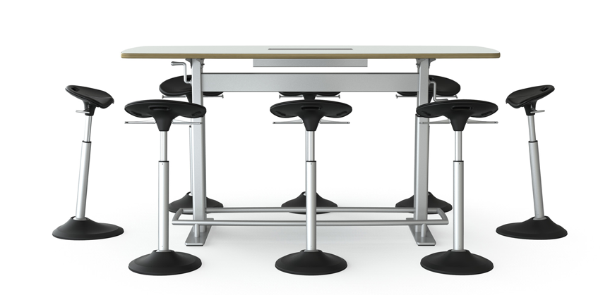 Mobis Leaning Seat By Focal Upright Furniture - Standing conference room table